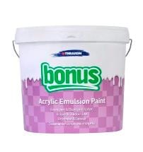 Bonus acrylic emulsion paint goulas building materials for Can you use emulsion paint on canvas